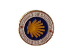 Pin Estrella Camino de Santiago Redonda
