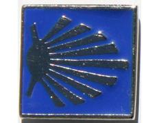 Pin Estrella del Camino Metal