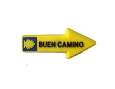 Pin flecha goma Buen Camino