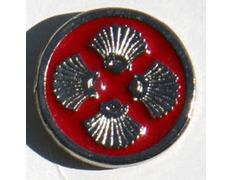 Pin Logo Xacobeo 4 Conchas Metal