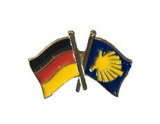 Pin Metal Bandera Alemania Camino Santiago