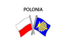 Pin Metal Bandera Polonia Camino Santiago