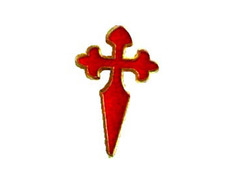Pin Metal Cruz de Santiago