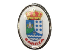 Pin Metal Escudo Sarria