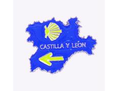 Pin Metal Mapa Castilla y León