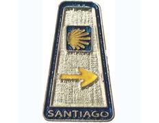 Pin Mojón Santiago