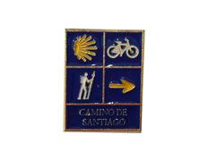 Pin Peregrino, Bici, Estrella y Flecha Camino de Santiago