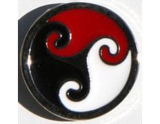 Pin Trisquel Celta Tricolor Metal