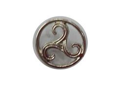 Pin Trisquel de Metal