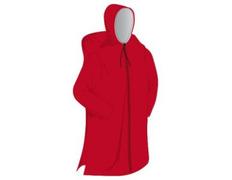 Poncho Elementerre Pelerin Rojo