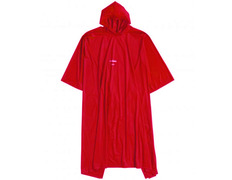 Poncho Ferrino Junior PVC Rojo