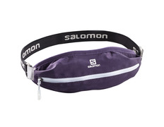 Riñonera Salomon Agile Single Belt Púrpura