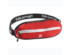 Riñonera Salomon Agile Single Belt Rojo/Blanco