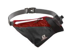 Riñonera Salomon Hydro 45 Compact Belt Negro/Rojo
