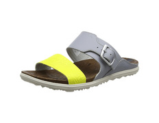 Sandalia Merrell Around Town Slide W Gris/Amarillo