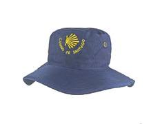 Sombrero Estrella Camino de Santiago Azul marino