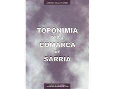 Toponímia de la Comarca de Sarria. de Antonio Díaz Fuentes