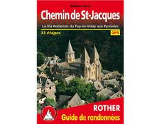 La Via Podiensis du Puy-en-Velay aux Pyrenees- Rother Chemin de-