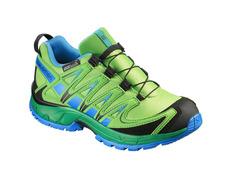 Zapatilla Salomon XA PRO 3D CS WP K Verde/Azul/Negro
