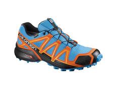 Zapatilla Salomon Speedcross 4 GTX Azul/Naranja/Negro