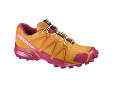 Zapatilla Salomon Speedcross 4 W Amarillo/Rosa