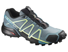 Zapatilla Salomon Speedcross 4 W Antracita/Amarillo