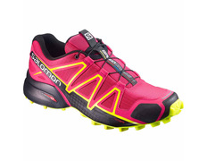 Zapatilla Salomon Speedcross 4 W Fucsia/Amarillo
