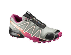 Zapatilla Salomon Speedcross 4 CS W Gris/Rosa
