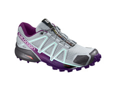 Zapatilla Salomon Speedcross 4 W Gris/Violeta