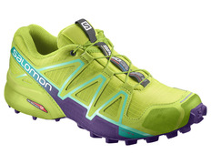 Zapatilla Salomon Speedcross 4 W Lima/Morado