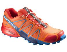 Zapatilla Salomon Speedcross 4 Naranja/Rojo/Azul