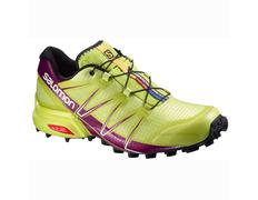 Zapatilla Salomon Speedcross Pro W Verde lima/Púrpura
