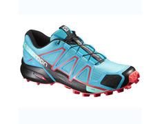 Zapatilla Salomon Speedcross 4 W Turquesa/Rojo