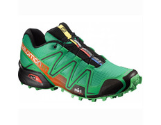 Zapatilla Salomon Speedcross 3 Verde/Negro/Naranja