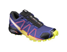 Zapatilla Salomon Speedcross 4 W Violeta/Amarillo