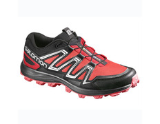 Zapatilla Salomon Speedtrak W Rojo/Negro