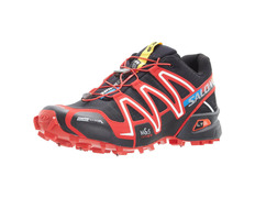 Zapatilla Salomon Spikecross 3 CS Negro/Rojo/Blanco