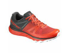 Zapatilla Salomon Trailster Cherry Naranja/Gris