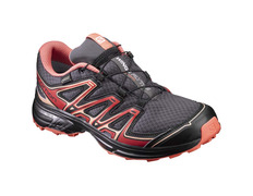 Zapatilla Salomon Wings Flyte 2 GTX W Negro/Rojo