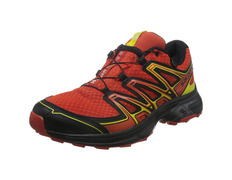 Zapatilla Salomon Wings Flyte 2 GTX Rojo/Negro/Amarillo
