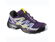 Zapatilla Salomon Wings Flyte 2 W Violeta/Amarillo/Negro