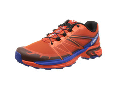 Zapatilla Salomon Wings Pro 2 Naranja/Azul
