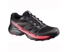 Zapatilla Salomon Wings Pro 2 W Negro/Rosa
