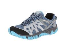 Zapato Merrell Allout Blaze Aero Sport W Gris/Azul