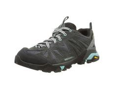 Zapato Merrell Capra GTX W Kaki/Negro