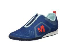 Zapato Merrell Civet Zip W Azul/Coral