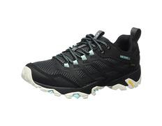 Zapato Merrell Moab Fst GTX W Negro/Turquesa