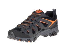 Zapato Merrell Moab FST Ltr Negro/Naranja