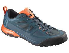Zapato Salomon X Alp Spry Aguamarina/Naranja