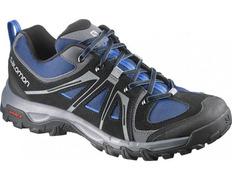 Zapato Salomon Evasion Aero Negro/Azul